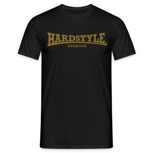 Hardstyle Denmark - Gold - Men's T-Shirt