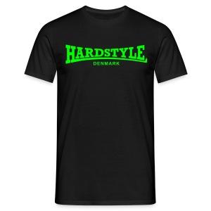 Hardstyle Denmark - Neongreen - Men's T-Shirt