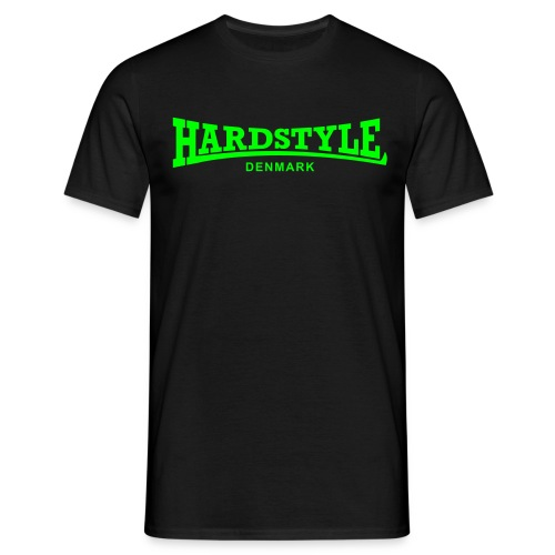 Hardstyle Denmark - Neongreen - Men's T-Shirt