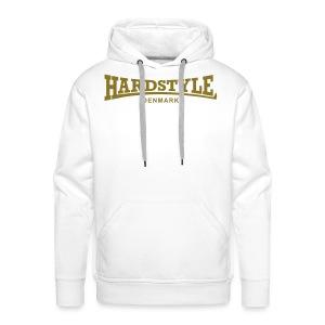 Hardstyle Denmark - Gold - Men's Premium Hoodie