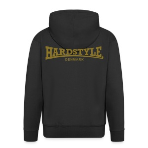 Hardstyle Denmark - Gold - Men's Premium Hooded Jacket