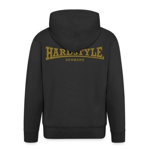 Hardstyle Denmark - Gold - Men's Premium Hooded Jacket