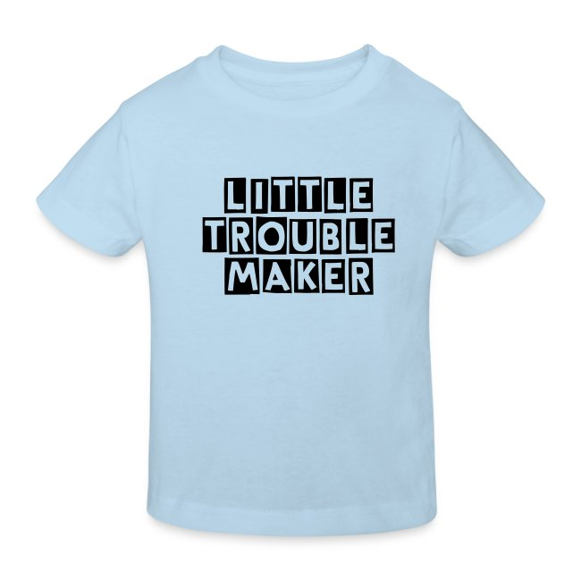 """little trouble maker"" kid's t-shirt"