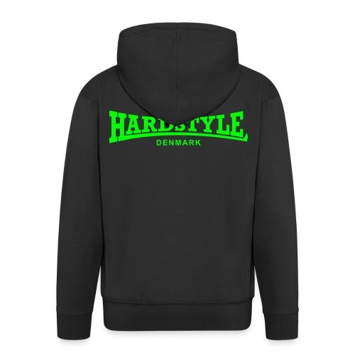 Hardstyle Denmark - Neongreen - Men's Premium Hooded Jacket