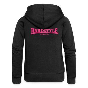 Hardstyle Denmark - Neonpink - Women's Premium Hooded Jacket
