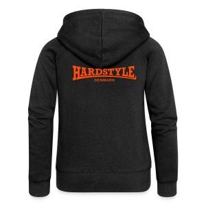 Hardstyle Denmark - Neonorange - Women's Premium Hooded Jacket
