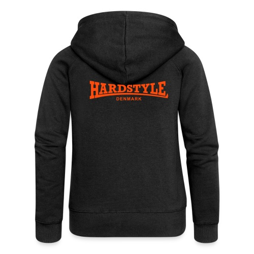Hardstyle Denmark - Neonorange - Women's Premium Hooded Jacket