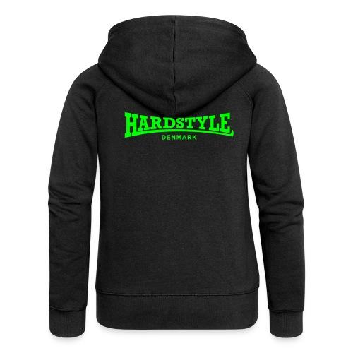 Hardstyle Denmark - Neongreen - Women's Premium Hooded Jacket