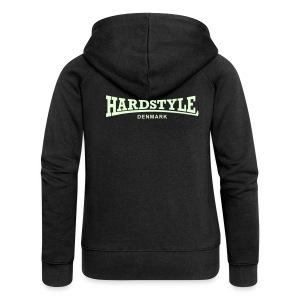 Hardstyle Denmark - Glow in the dark - Women's Premium Hooded Jacket