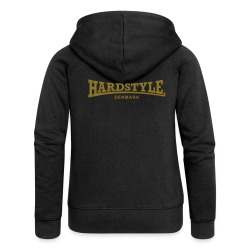 Hardstyle Denmark - Gold - Women's Premium Hooded Jacket