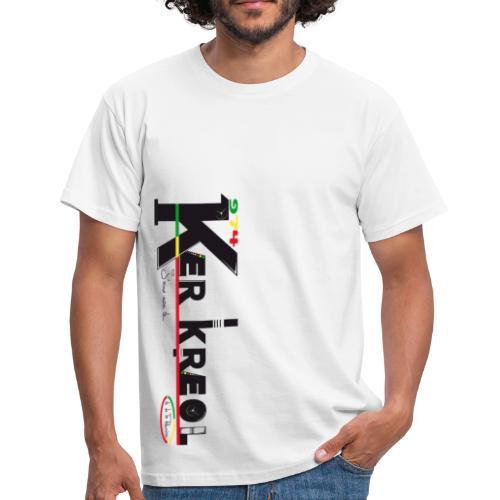 T-shirt 974 Ker Kreol  - J'aime mon île 2013 - T-shirt Homme