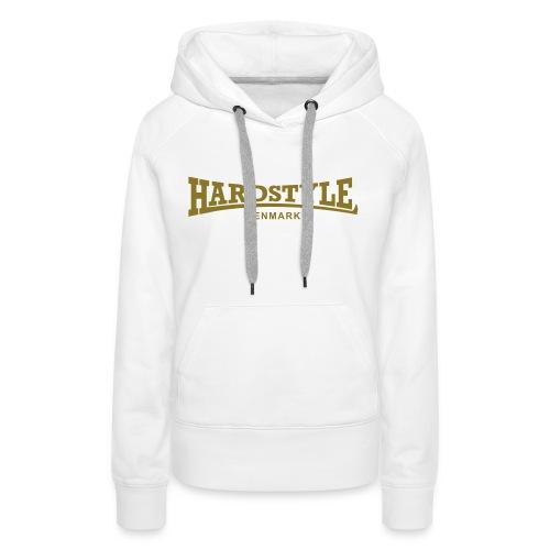 Hardstyle Denmark - Gold - Women's Premium Hoodie