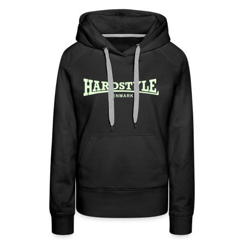 Hardstyle Denmark - Glow in the dark - Women's Premium Hoodie