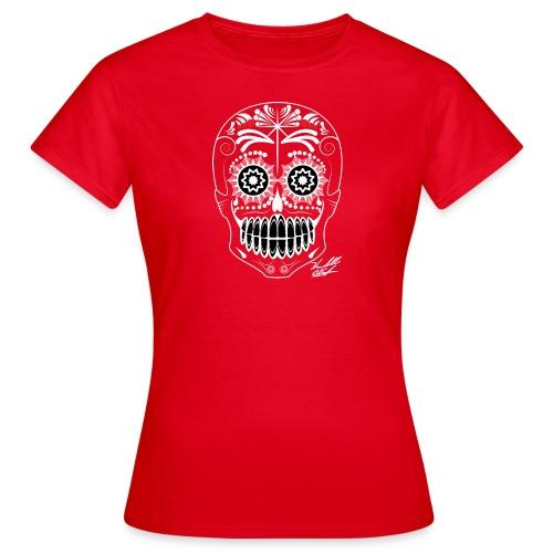 WHITE SKULL W SIG - Women's T-Shirt