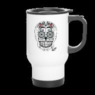 Mugs & Drinkware ~ Travel Mug ~ SKULL W SIG