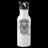 Mugs & Drinkware ~ Water Bottle ~ SKULL W SIG