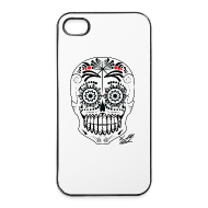 Phone & Tablet Cases ~ iPhone 4/4s Hard Case ~ SKULL W SIG