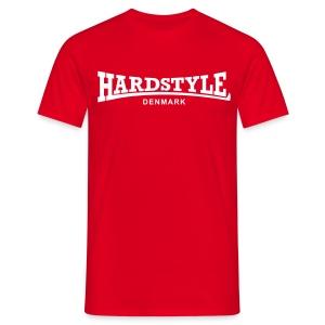 Hardstyle Denmark - White - Men's T-Shirt