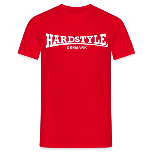 Hardstyle Denmark - White - Men's T-Shirt