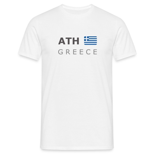 Classic T-Shirt ATH GREECE dark-lettered - Men's T-Shirt