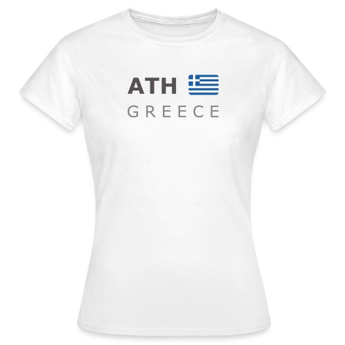 Women's T-Shirt ATH GREECE dark-lettered - Women's T-Shirt