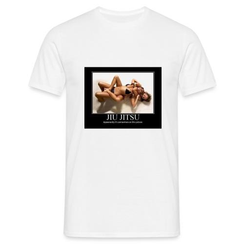 T-Shirt met Jiu-Jitsu afbeelding - Mannen T-shirt