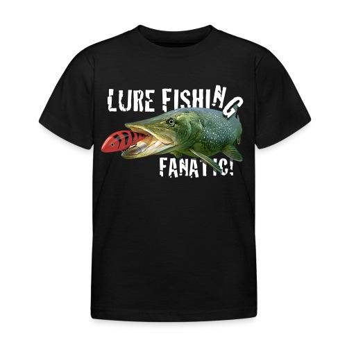 Kids 'Lure Fishing Fanatic' Tee shirt - Kids' T-Shirt