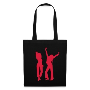 Black Bag / Red Logo - Tote Bag