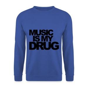 Music Is My Drug - Mannen sweater