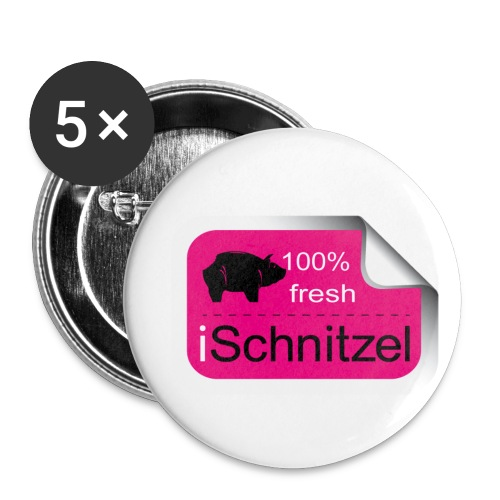 iSchnitzel Button fresh - Buttons mittel 32 mm