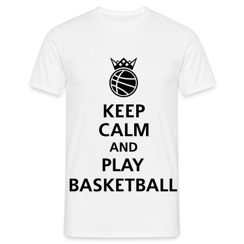 Play Basketball T-shirt - Men's T-Shirt