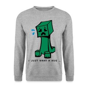 all alone - Men's Sweatshirt