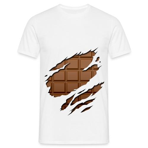 Tabette de chocolat - T-shirt Homme