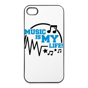MusicIsMyLife - iPhone 4/4s Hard Case