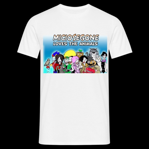 Loves Animals Shirt - Maglietta da uomo