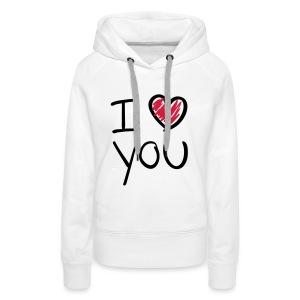 Vrouwen Sweater - Vrouwen Premium hoodie