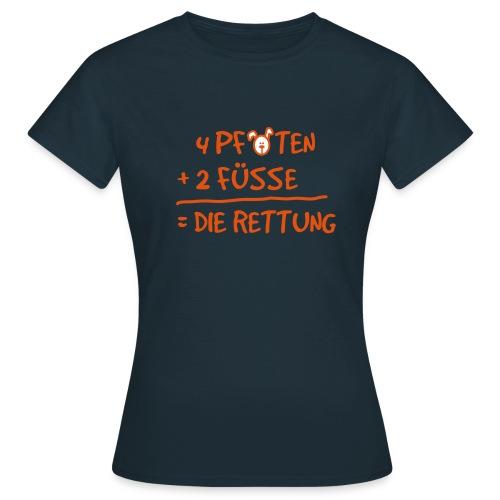 4 Pfoten - Frauen T-Shirt