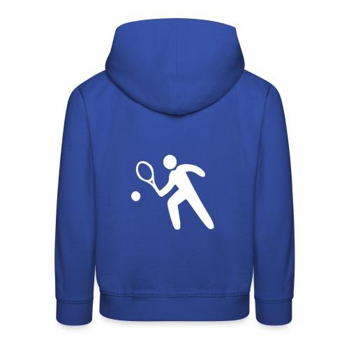 Sweat enfant Fécamp Tennis - Pull à capuche Premium Enfant
