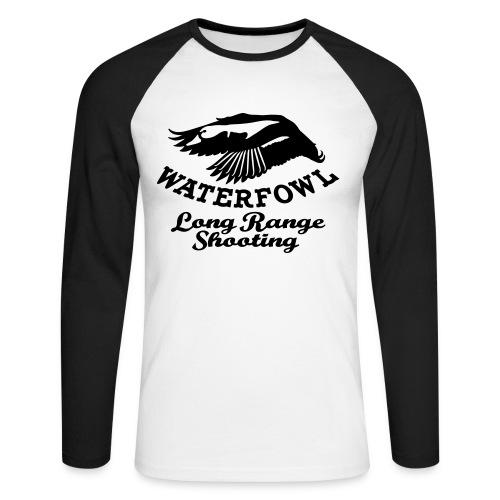 waterfowl long range shooting - Maglia da baseball a manica lunga da uomo