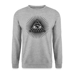 illuminati - Mannen sweater