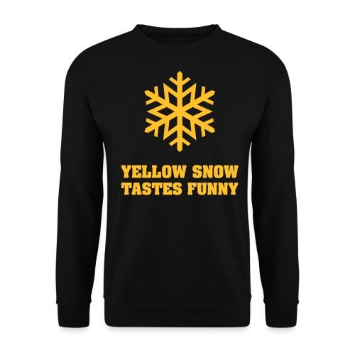 Yellow snow - Herre sweater