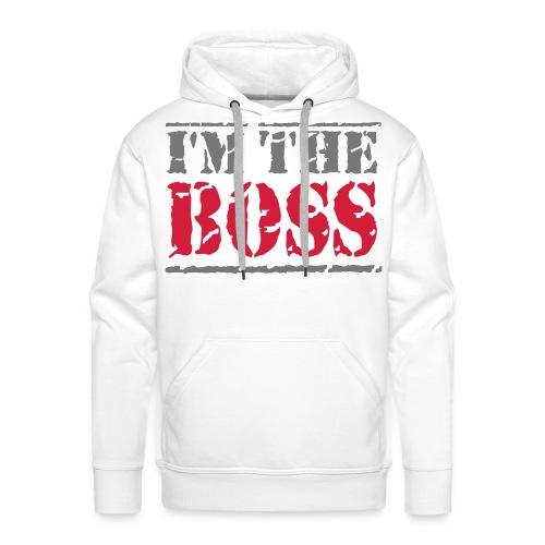 Like a boss ( met sterrren aan zijkant ) - Mannen Premium hoodie