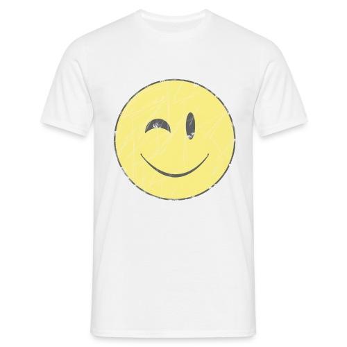 camiseta clásica chico Wink smiley - Camiseta hombre
