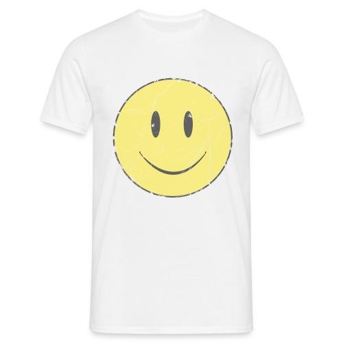 camiseta clásica chico Smiley - Camiseta hombre