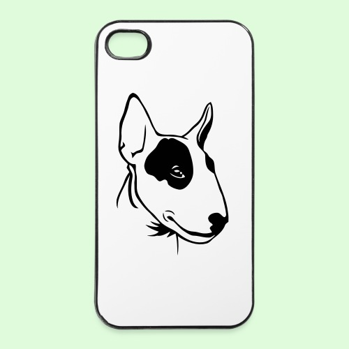 Profil de Bull Terrier - Coque rigide iPhone 4/4s
