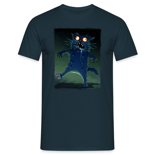 Walt the Cat - Zombie  - Men's T-Shirt