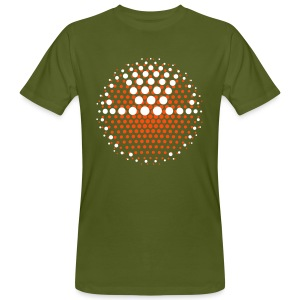 DISCO INFERNO SMILEY III - Männer Bio-T-Shirt
