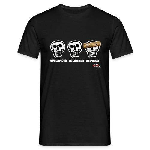 Die drei Schädel - Männer T-Shirt