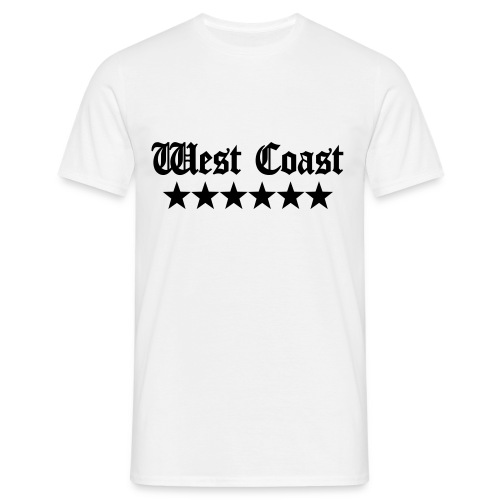 T SHIRT WEST COAST - T-shirt Homme