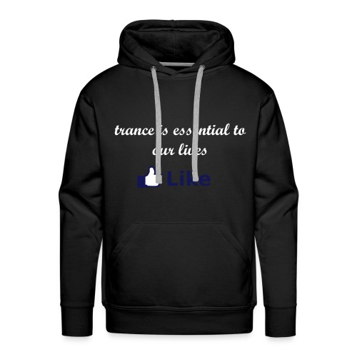trance is essential - Men's Premium Hoodie
